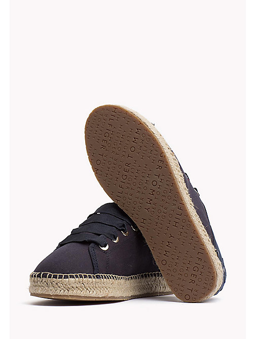 TOMMY HILFIGER Lace-Up Espadrilles - MIDNIGHT - TOMMY HILFIGER Shoes - detail image 1