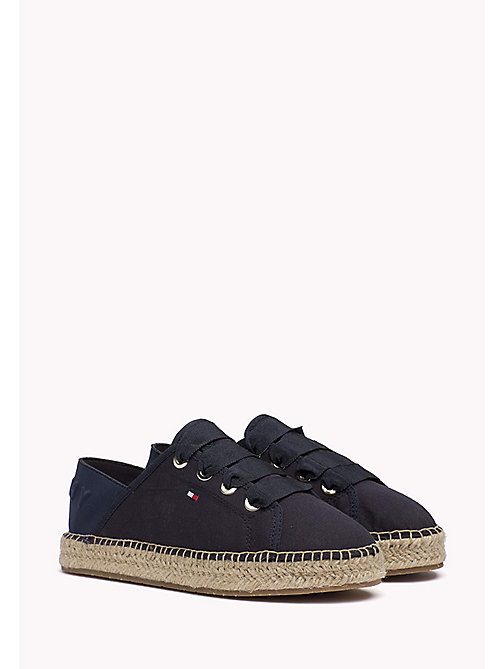 TOMMY HILFIGER Lace-Up Espadrilles - MIDNIGHT - TOMMY HILFIGER Espadrilles - main image