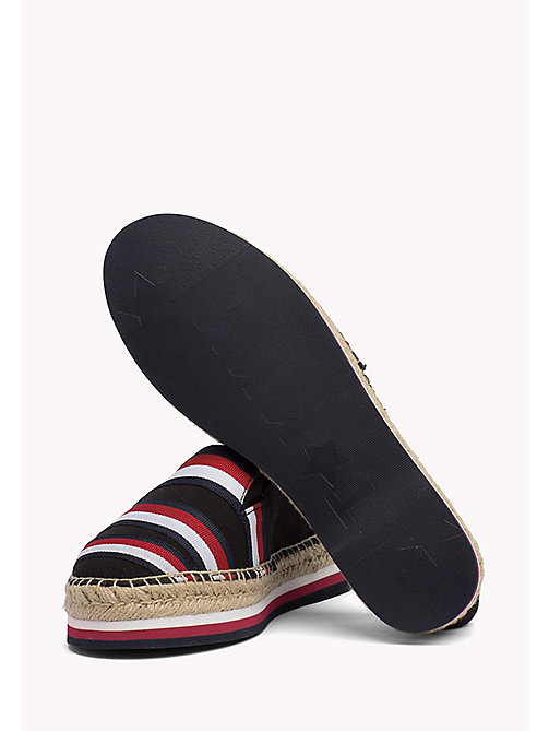 TOMMY HILFIGER Tommy Signature Espadrilles - BLACK - TOMMY HILFIGER Shoes - detail image 1