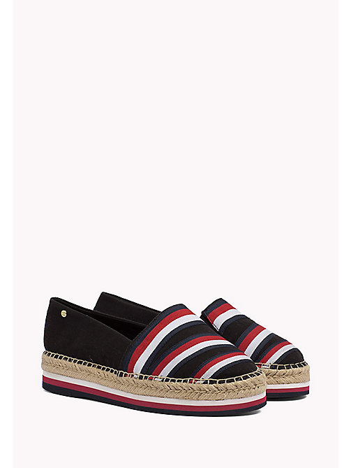 TOMMY HILFIGER Tommy Signature Espadrilles - BLACK - TOMMY HILFIGER Shoes - main image