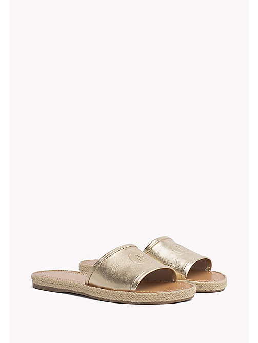 TOMMY HILFIGER Metallic Mules - MEKONG - TOMMY HILFIGER Shoes - main image