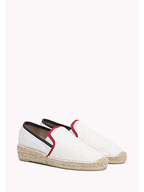 TOMMY HILFIGER Star Embossed Espadrilles - RWB - TOMMY HILFIGER Shoes - main image