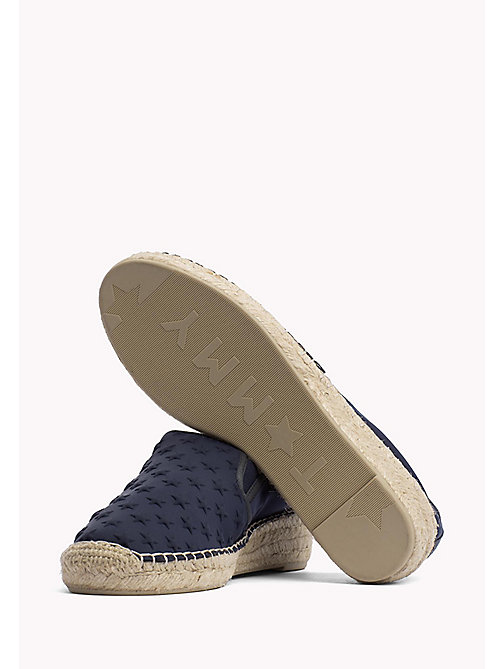 TOMMY HILFIGER Star Embossed Espadrilles - MIDNIGHT - TOMMY HILFIGER Shoes - detail image 1