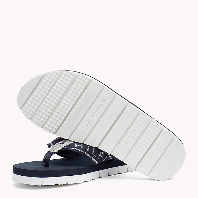 TOMMY HILFIGER Flexible Beach Sandals - BLACK - TOMMY HILFIGER Women - detail image 1