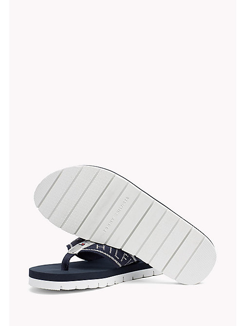 TOMMY HILFIGER Sandales de plage flexibles - MIDNIGHT - TOMMY HILFIGER Tongs & Sliders - image détaillée 1