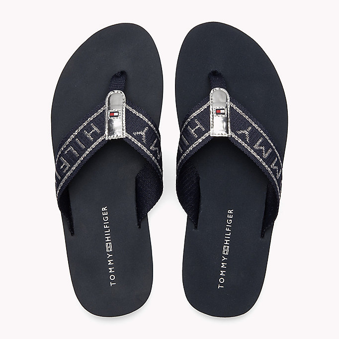 TOMMY HILFIGER Flexible Beach Sandals - BLACK - TOMMY HILFIGER Women - detail image 3