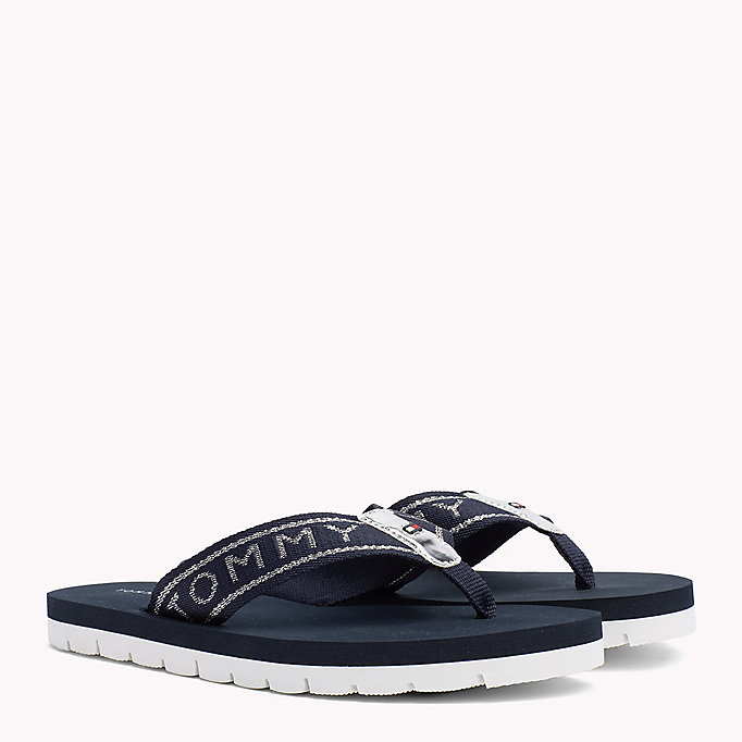 TOMMY HILFIGER Flexible Beach Sandals - BLACK - TOMMY HILFIGER Women - main image