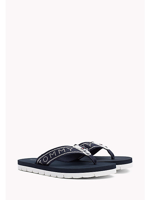 TOMMY HILFIGER Flexible Beach Sandals - MIDNIGHT - TOMMY HILFIGER Flip Flops & Sliders - main image