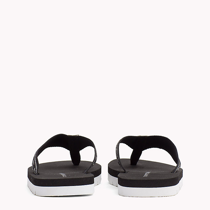 TOMMY HILFIGER Flexible Beach Sandals - COBBLESTONE - TOMMY HILFIGER Women - detail image 2