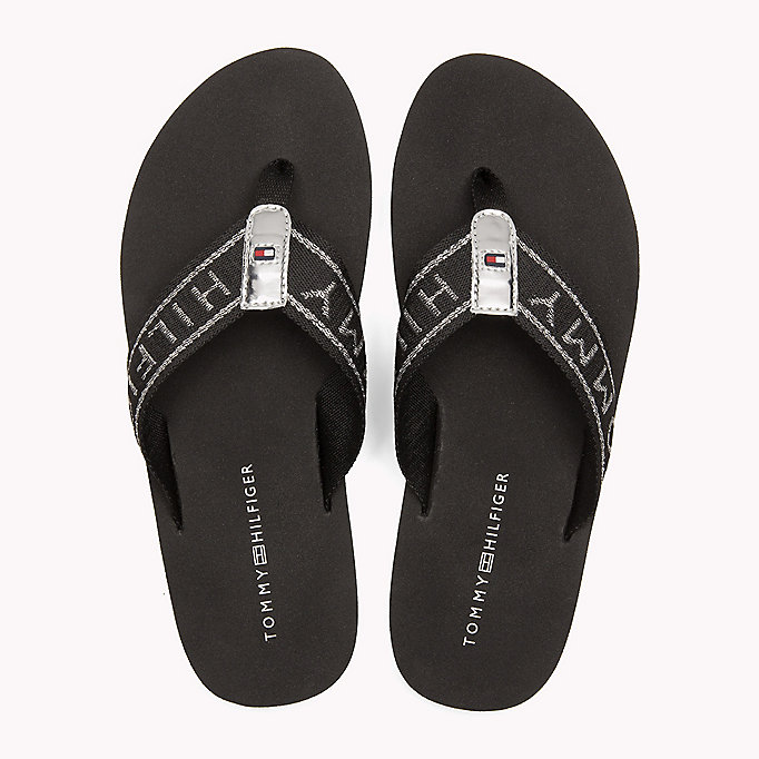 TOMMY HILFIGER Flexible Beach Sandals - COBBLESTONE - TOMMY HILFIGER Women - detail image 3