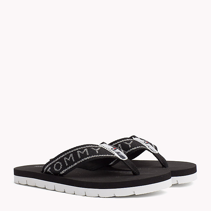 TOMMY HILFIGER Flexible Beach Sandals - COBBLESTONE - TOMMY HILFIGER Women - main image