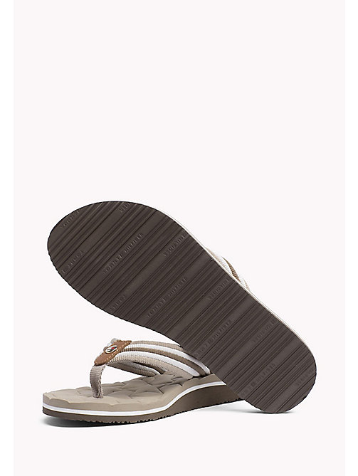 TOMMY HILFIGER Comfort Low Beach Sandals - COBBLESTONE - TOMMY HILFIGER VACATION FOR HER - detail image 1