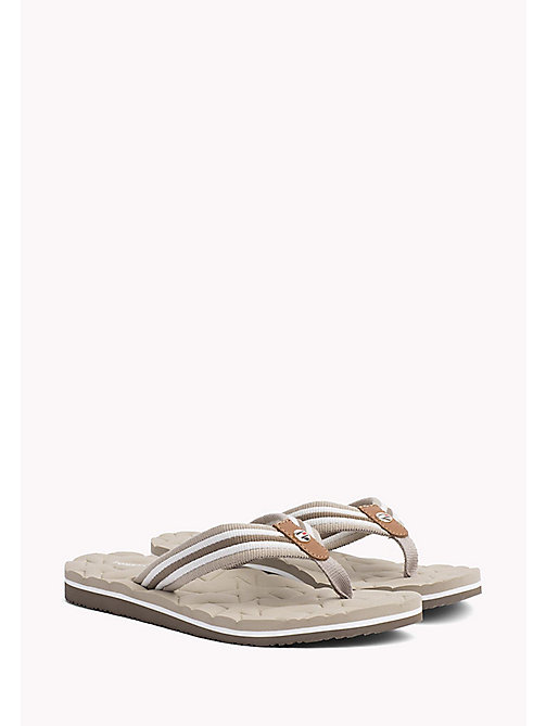 TOMMY HILFIGER Comfort Low Beach Sandals - COBBLESTONE - TOMMY HILFIGER VACATION FOR HER - main image