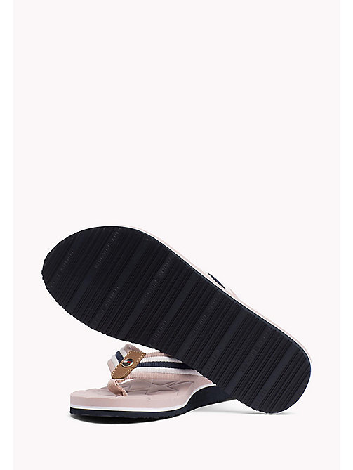 TOMMY HILFIGER Comfort Low Beach Sandals - DUSTY ROSE - TOMMY HILFIGER Flip Flops & Sliders - detail image 1