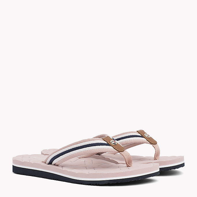 TOMMY HILFIGER Comfort Low Beach Sandals - TANGO RED - TOMMY HILFIGER Women - main image