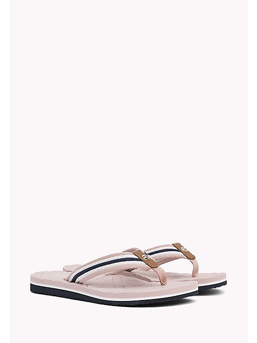 TOMMY HILFIGER Comfort Low Beach Sandals - DUSTY ROSE - TOMMY HILFIGER Flip Flops & Sliders - main image