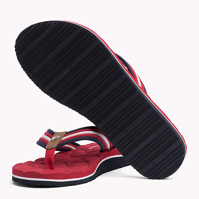 TOMMY HILFIGER Comfort Low Beach Sandals - COBBLESTONE - TOMMY HILFIGER SHOES - detail image 1