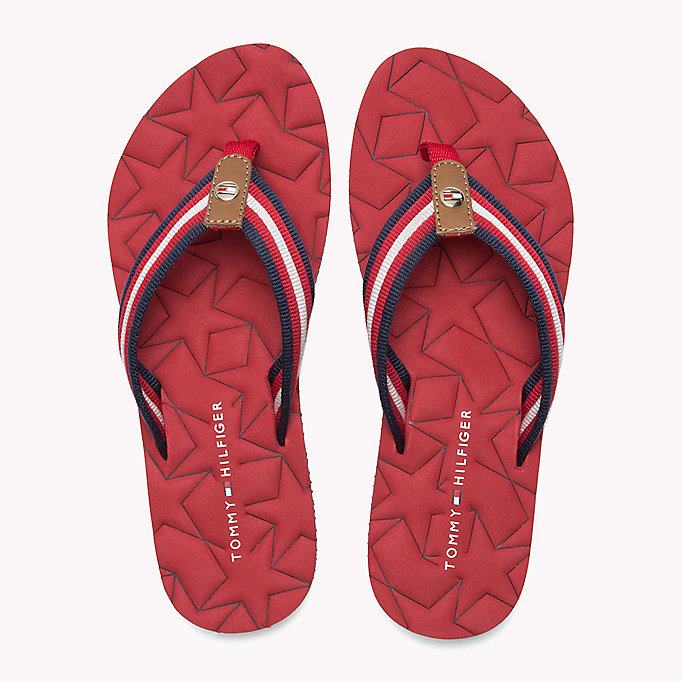 TOMMY HILFIGER Comfort Low Beach Sandals - COBBLESTONE - TOMMY HILFIGER SHOES - detail image 3