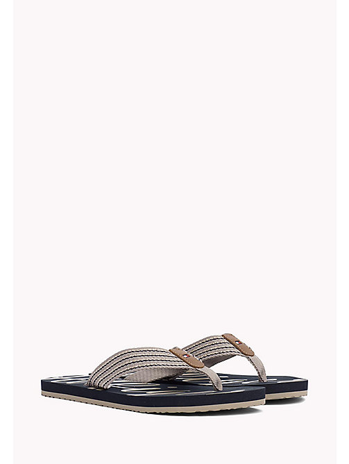 TOMMY HILFIGER Beach Sandals - COBBLESTONE - TOMMY HILFIGER Flip Flops & Sliders - main image