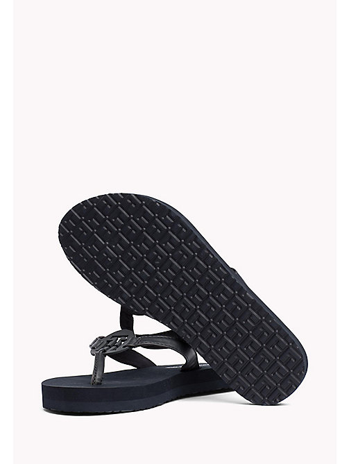 TOMMY HILFIGER Sleek Beach Sandals - MIDNIGHT - TOMMY HILFIGER VACATION FOR HER - detail image 1