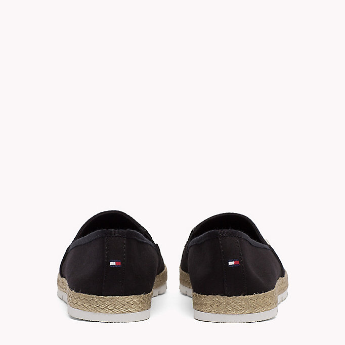 TOMMY HILFIGER Flat Cotton Espadrilles - TANGO RED - TOMMY HILFIGER SHOES - detail image 2