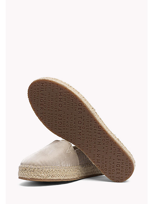 TOMMY HILFIGER Metallic Monogram Espadrilles - MEKONG - TOMMY HILFIGER VACATION FOR HER - detail image 1