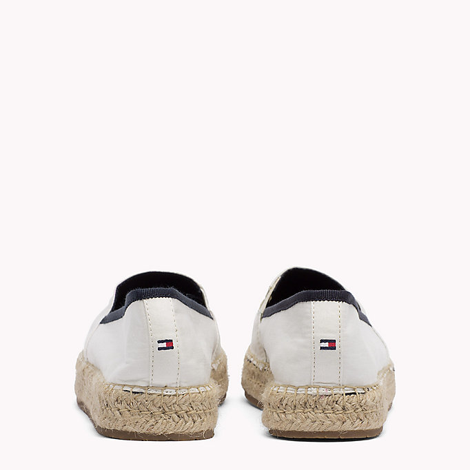 TOMMY HILFIGER Sequinned Logo Espadrilles - TANGO RED - TOMMY HILFIGER SHOES - detail image 2