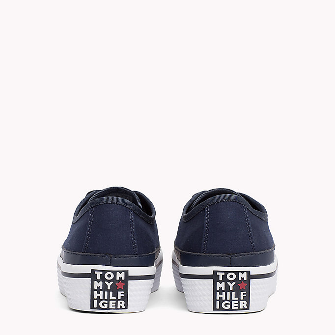 TOMMY HILFIGER Flatform Trainers - WHITE - TOMMY HILFIGER SHOES - detail image 2
