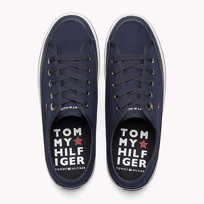 TOMMY HILFIGER Flatform Trainers - WHITE - TOMMY HILFIGER SHOES - detail image 3