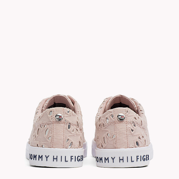 TOMMY HILFIGER Metallic Detail Trainers - TOMMY NAVY - TOMMY HILFIGER Women - detail image 2