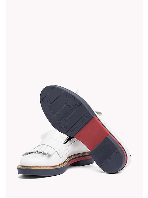 TOMMY HILFIGER Patent Penny Loafers - WHISPER WHITE -  Moccasins & Loafers - detail image 1