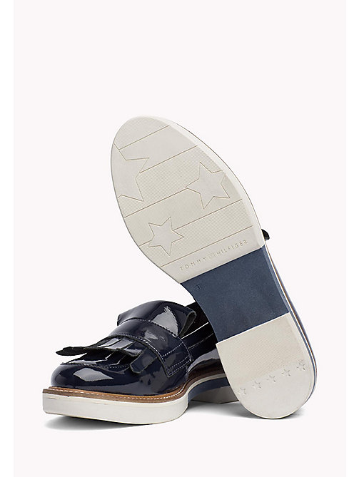 TOMMY HILFIGER Patent Penny Loafers - MIDNIGHT -  Moccasins & Loafers - detail image 1