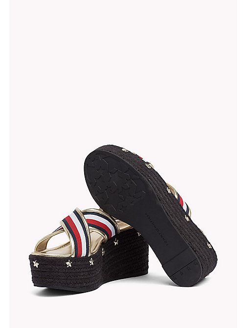 TOMMY HILFIGER Star-Studded Strappy Flatforms - RWB - TOMMY HILFIGER Shoes - detail image 1