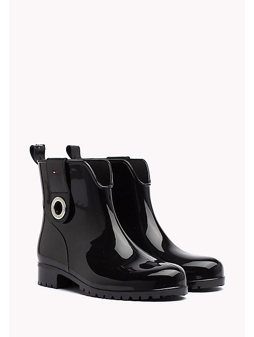 TOMMY HILFIGER Rain Boots - BLACK - TOMMY HILFIGER Best Sellers - main image