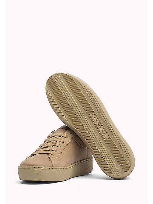 TOMMY HILFIGER Nubuck Sneaker - SAND - TOMMY HILFIGER Trainers - detail image 1