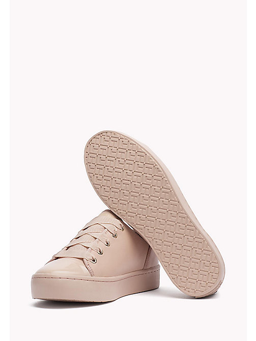 Leather Sneaker - DUSTY ROSE - TOMMY HILFIGER Shoes - detail image 1