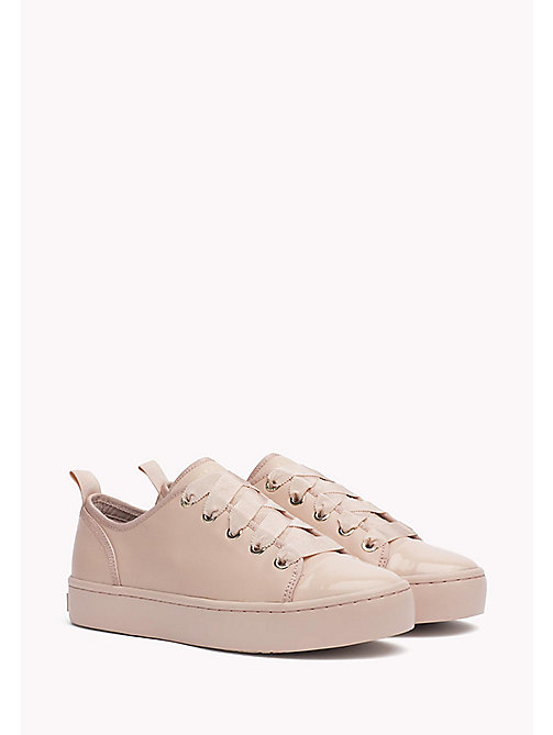 TOMMY HILFIGER Baskets en cuir - DUSTY ROSE - TOMMY HILFIGER Les Favoris - image principale