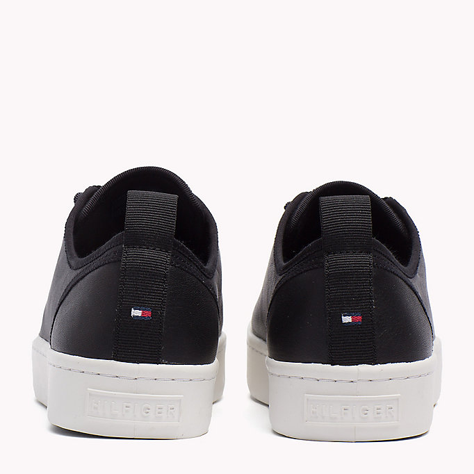 TOMMY HILFIGER Leather Sneaker - TOMMY NAVY - TOMMY HILFIGER SHOES - detail image 2