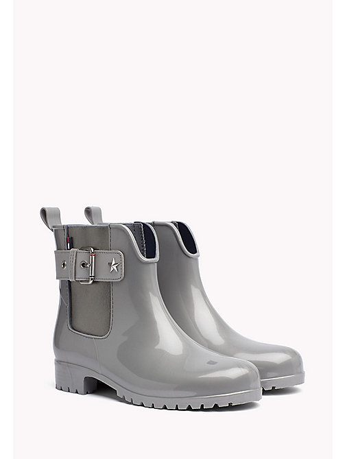 TOMMY HILFIGER Rain Ankle Boot - SILVER - TOMMY HILFIGER Boots - main image