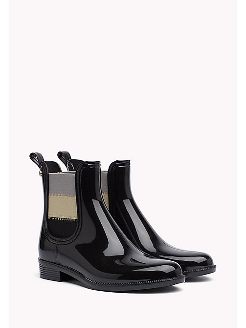 TOMMY HILFIGER Rain Ankle Boot - BLACK -  Boots - main image