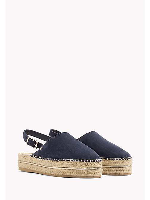 TOMMY HILFIGER Open Heel Espadrilles - TOMMY NAVY - TOMMY HILFIGER VACATION FOR HER - main image