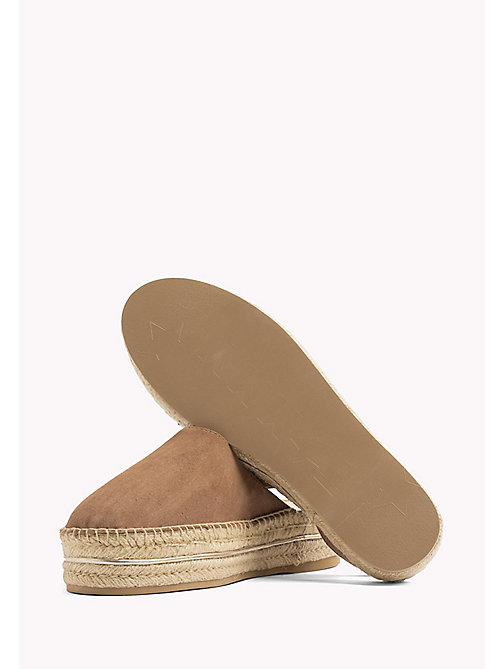 TOMMY HILFIGER Open Heel Espadrilles - SUMMER COGNAC - TOMMY HILFIGER VACATION FOR HER - detail image 1