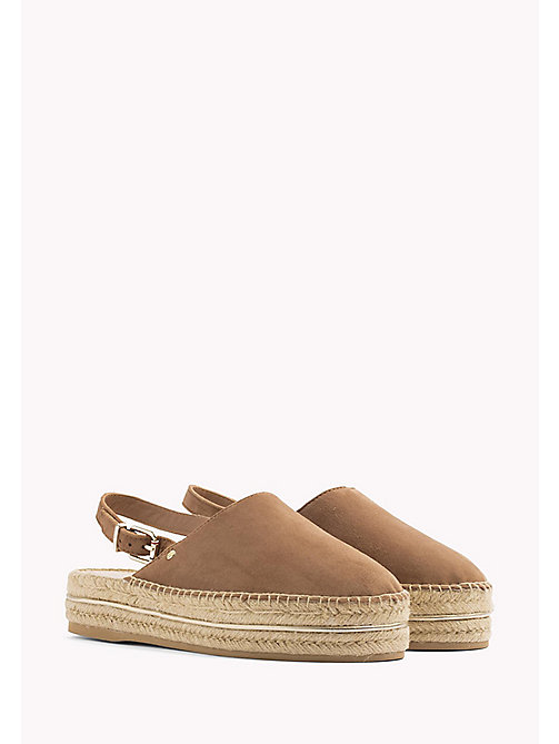 TOMMY HILFIGER Open Heel Espadrilles - SUMMER COGNAC - TOMMY HILFIGER VACATION FOR HER - main image