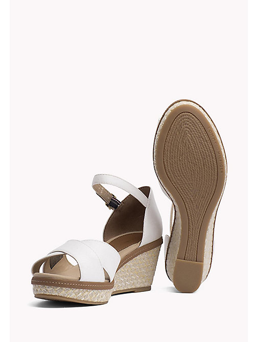 TOMMY HILFIGER Iconic Sandals - WHISPER WHITE - TOMMY HILFIGER Heeled Sandals - detail image 1