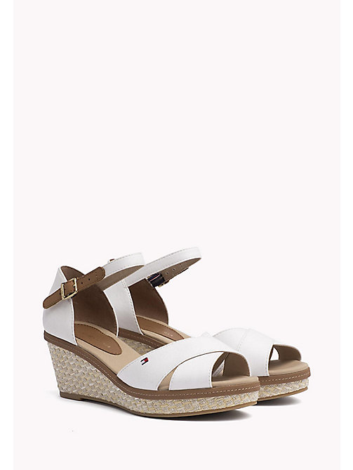 TOMMY HILFIGER Iconic Sandals - WHISPER WHITE - TOMMY HILFIGER Heeled Sandals - main image