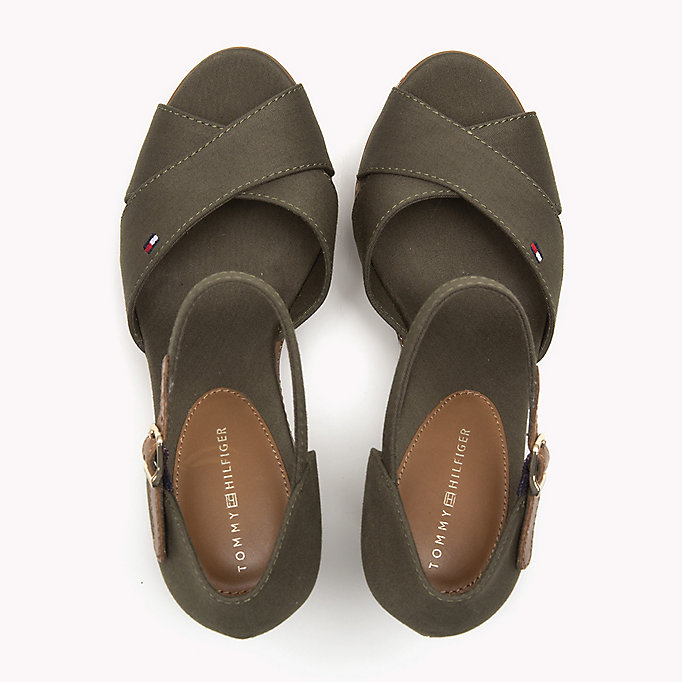 TOMMY HILFIGER Iconic Elena Sandals - MIDNIGHT - TOMMY HILFIGER Shoes - detail image 3