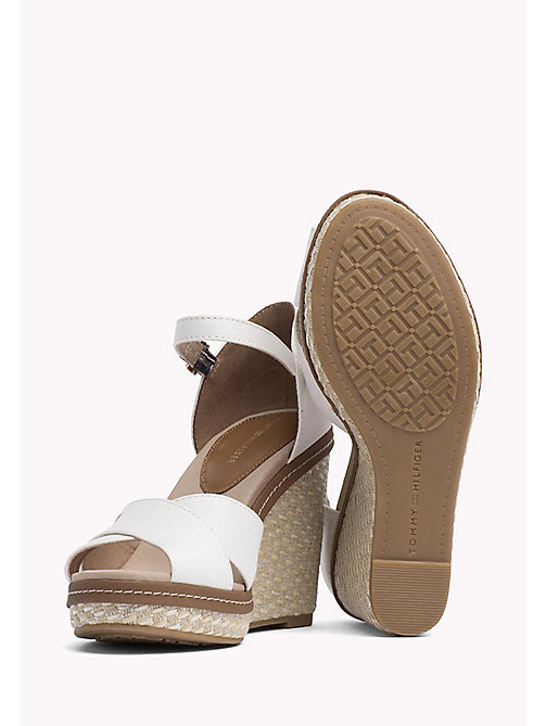 TOMMY HILFIGER Iconic Sandals - WHISPER WHITE - TOMMY HILFIGER Wedges - detail image 1