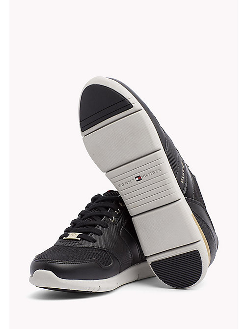Lightweight Trainers - BLACK - TOMMY HILFIGER Shoes - detail image 1