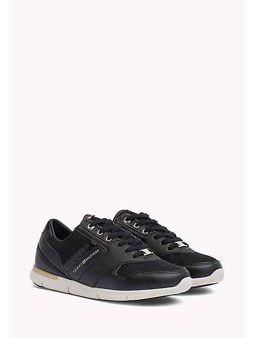 Lightweight Trainers - BLACK - TOMMY HILFIGER Shoes - main image