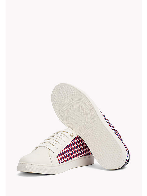 TOMMY HILFIGER Signature Woven Trainers - RWB - TOMMY HILFIGER VACATION FOR HER - detail image 1